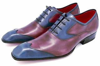 Richelieu a bout golf, cuir pre-patiné, paulus bolten, patine, chaussures habille, souliers