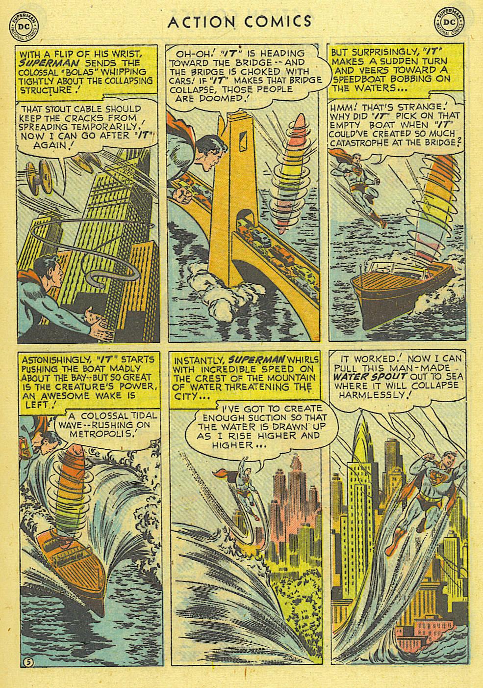 Action Comics (1938) 162 Page 5