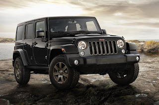 Jeep Wrangler 75th Anniversary (2016) Front Side