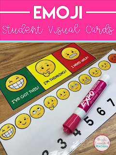 behavior visual cue cards