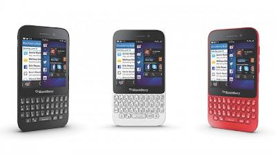 BlackBerry Q5, BB10 Versi Murah Resmi Diperkenalkan