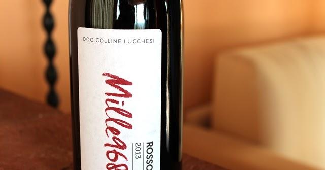 """""""Mille968"""" il nuovo ottimo vino rosso che nasce grazie all' intelligente iniziativa di tre aziende della d.o.c. """"colline lucchesi""""."""