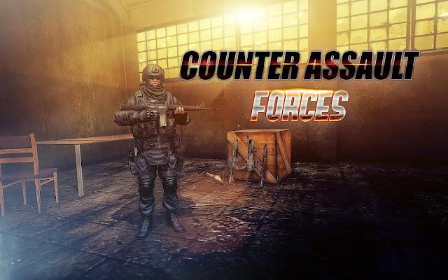 Counter Assault Forces Mod APK Mega Mod Terbaru