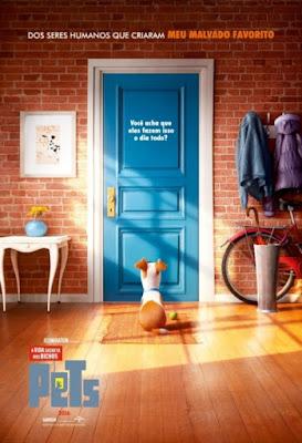 filme animação desenho animado hoje nos cinemas estreia resenha pets a vida secreta dos bichos cartaz banner