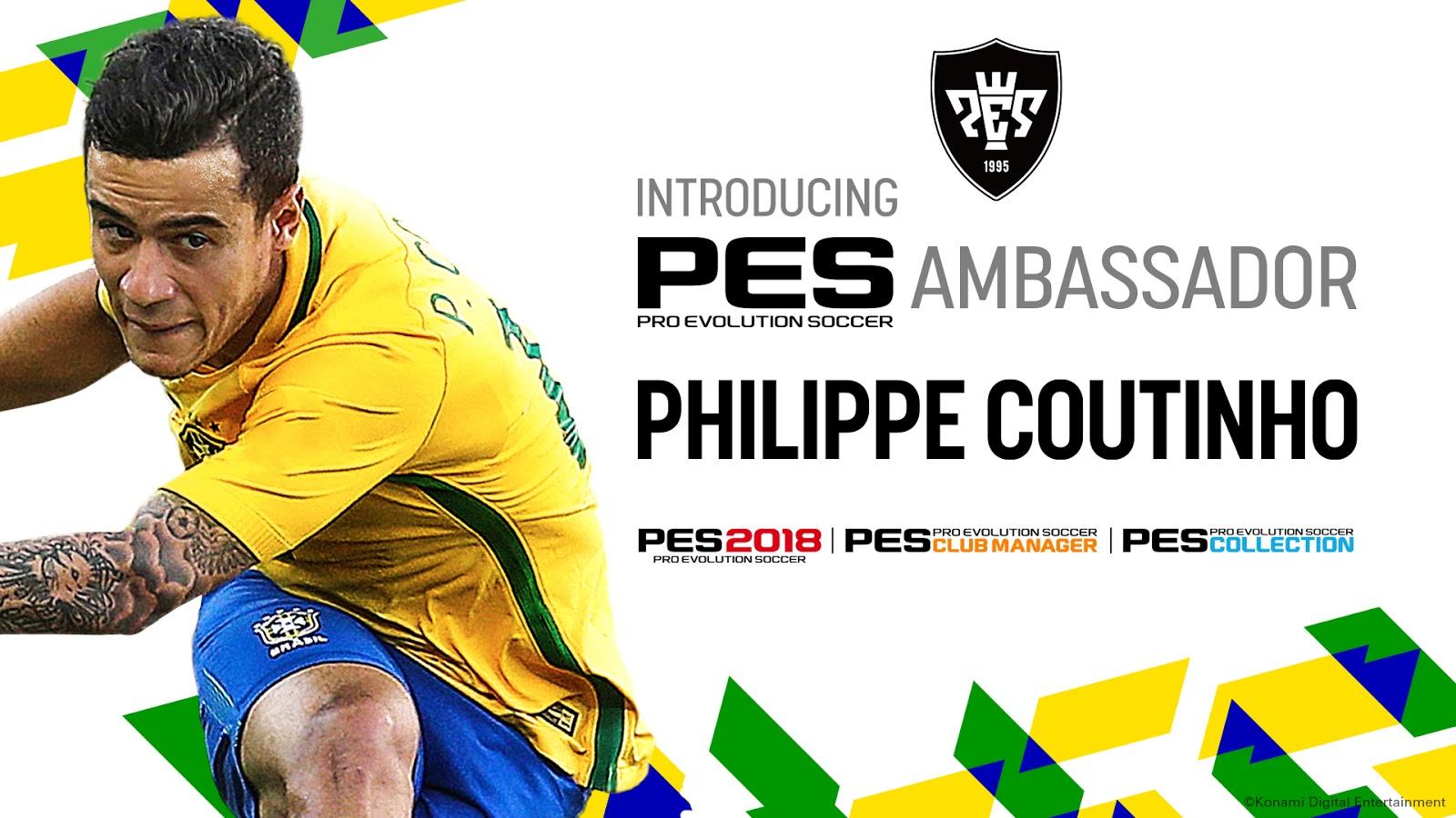 PES 2018 anuncia acuerdo con Vasco da Game y leyendas de Romario y Sócrates