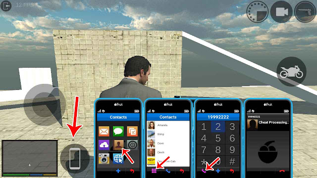 cara cheat gta 5 android