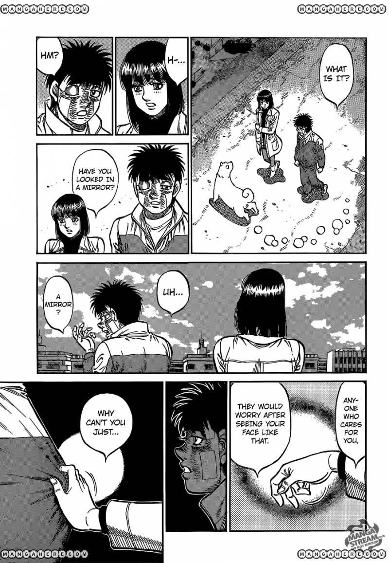 Hajime no Ippo - Chapter 1075