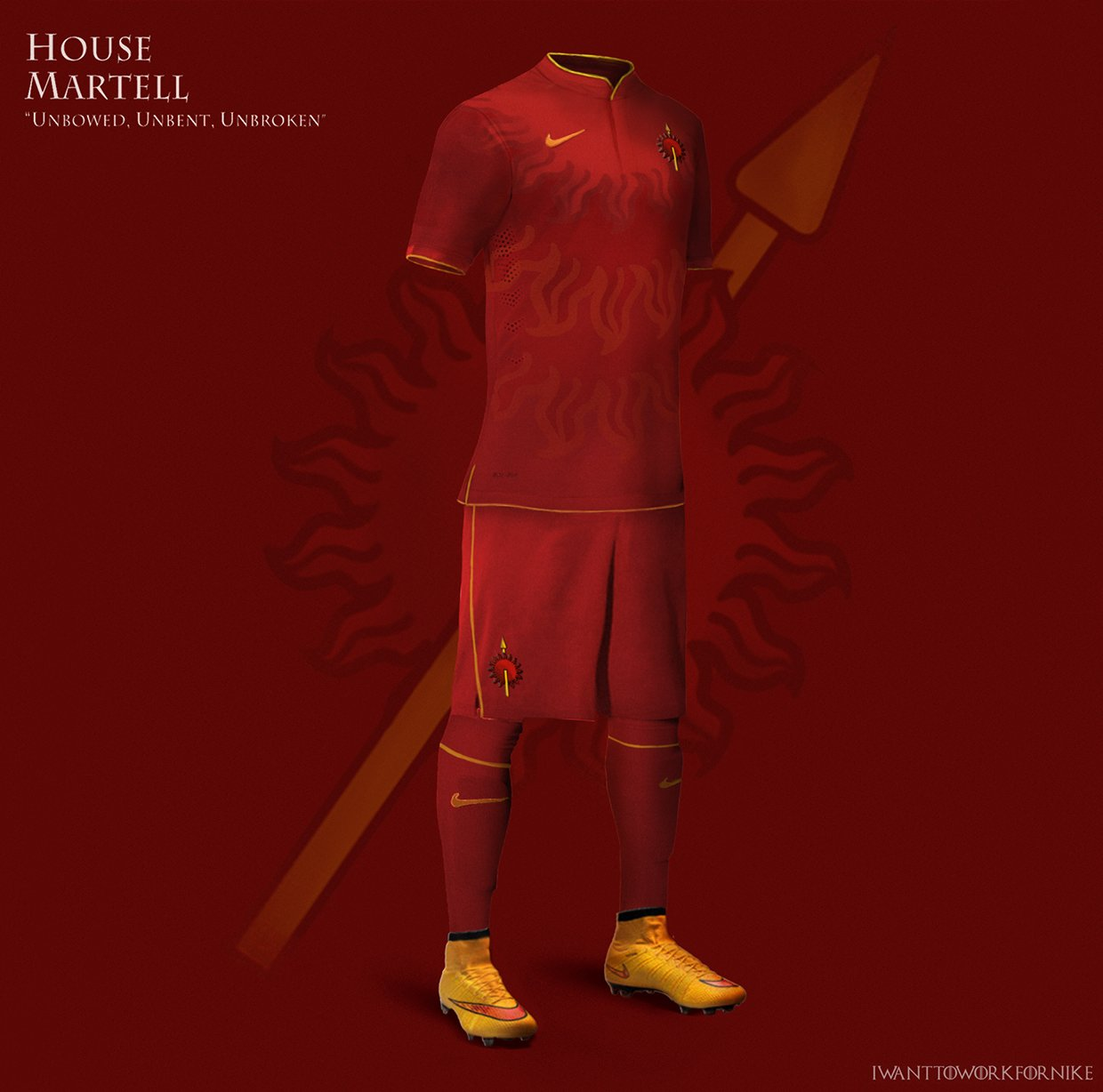 2020 Let S Glow Crazy Theme Kit: Game Of Thrones Football Kits By Nerea Palacios