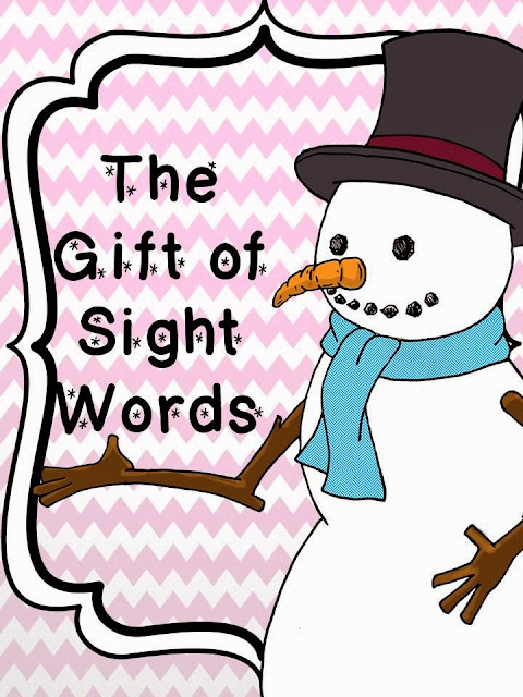 http://www.teacherspayteachers.com/Product/The-Gift-of-Sight-Words-982639