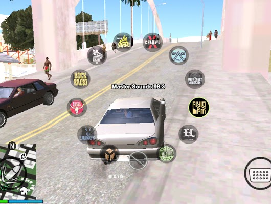GTA V Radio Hud Mod Android gta v mods android mobile