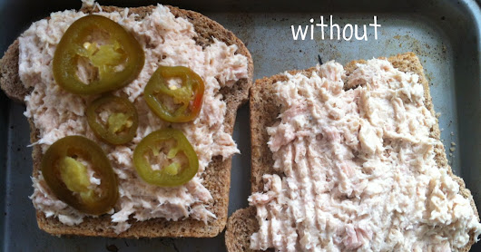 Quick and Easy San Diego Tuna Melts