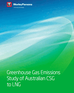 Greenhouse Gas Emissions Study of Coal Seam Gas