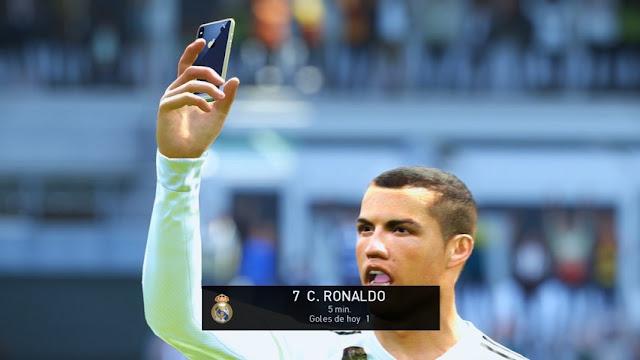 Selfie Iphone X Mod PES 2018