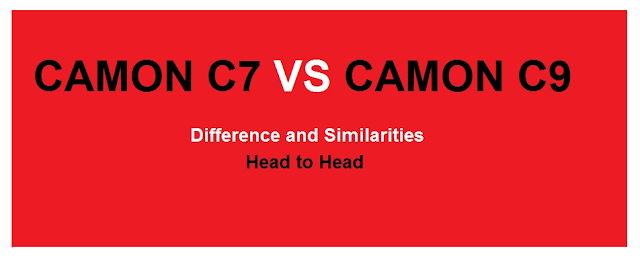 tecno c7 vs tecno c9 difference and similarities