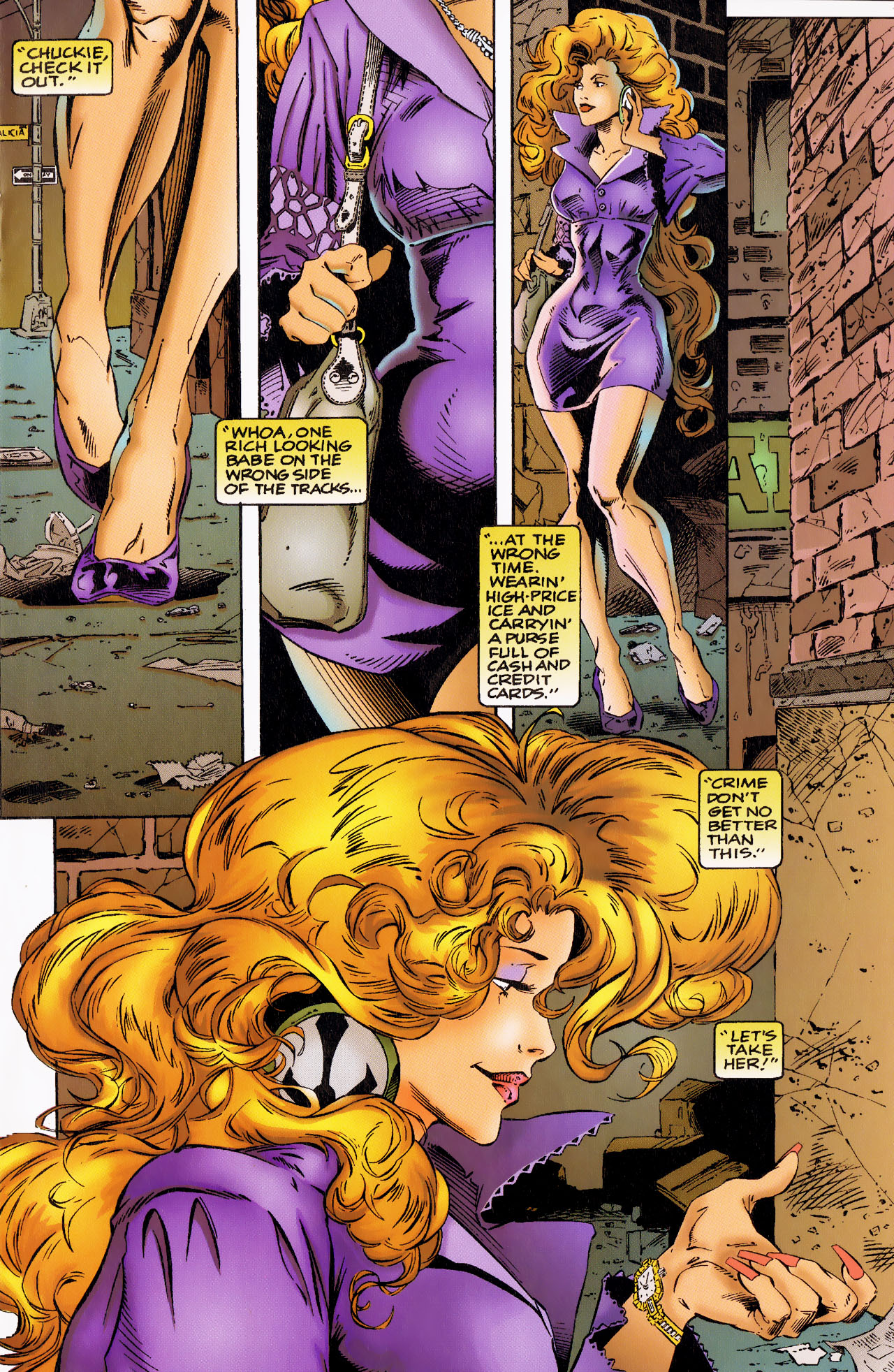 Read online Angela (1994) comic -  Issue #0 - 3