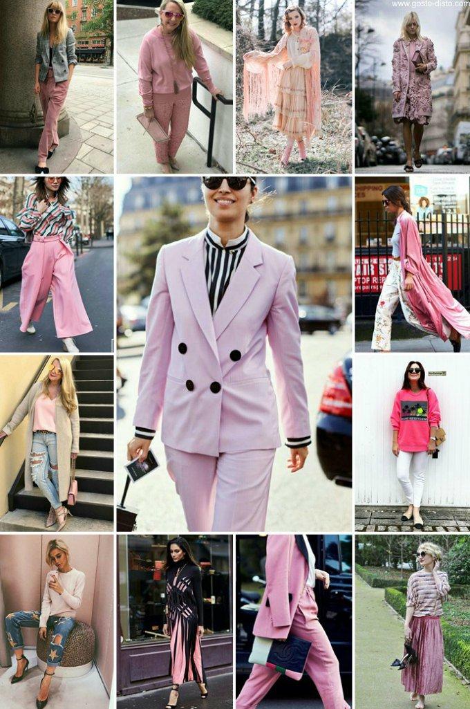 Looks em cor de rosa - pink