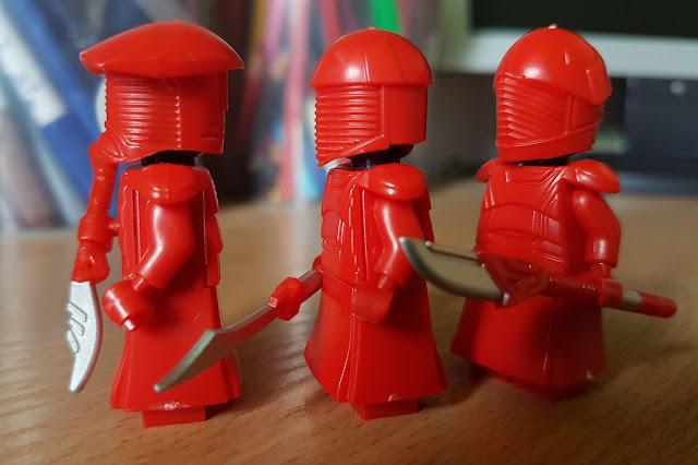 Телохранители Сноука, стража Первого ордена, Алая гвардия фигурки лего, купить