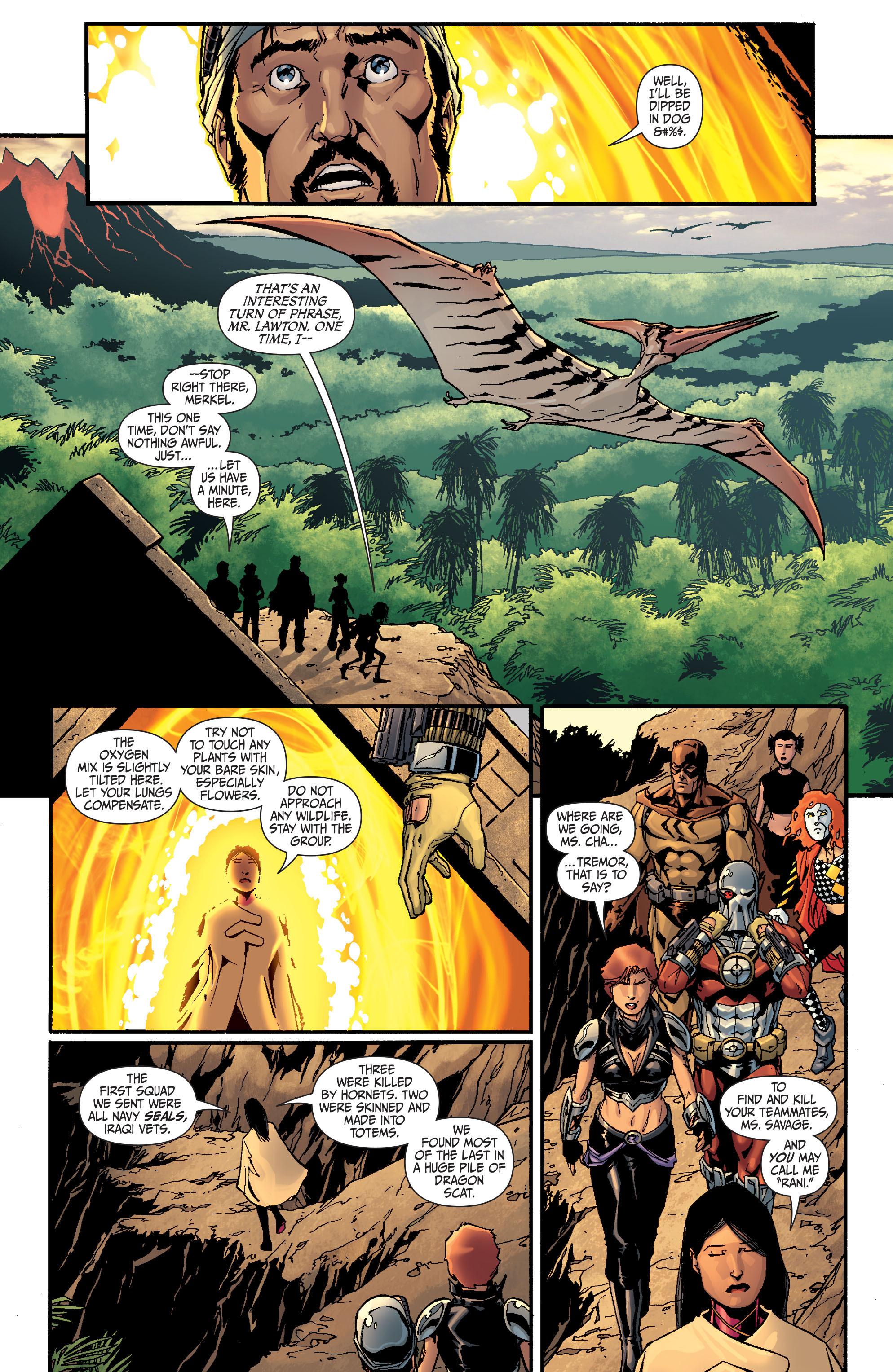 Read online Secret Six (2008) comic -  Issue #26 - 10