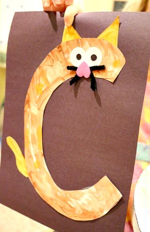 If you give a cat a cupcake cat craft