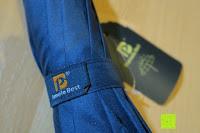 Logo: Golf Regenschirm, Pomelo Best Automatik auf Windresistent mit 128cm Durchmesser aus robusten 190T Pongee Stockschirm geeignet für 3-4 Personen
