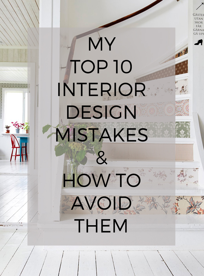 my top 10 interior design pet peeves and how to avoid them http://www.archieandtherug.com/
