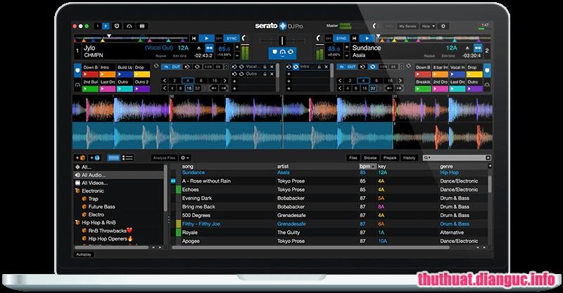 Download Serato DJ Pro 2.0.5 Build 4558 Full Cr@ck – Phần mềm DJ chuyên nghiệp