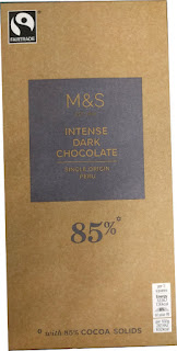 M&S 85% Intense dark chocolate bar