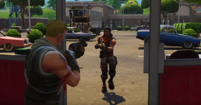 fortnite battle royale new map feature