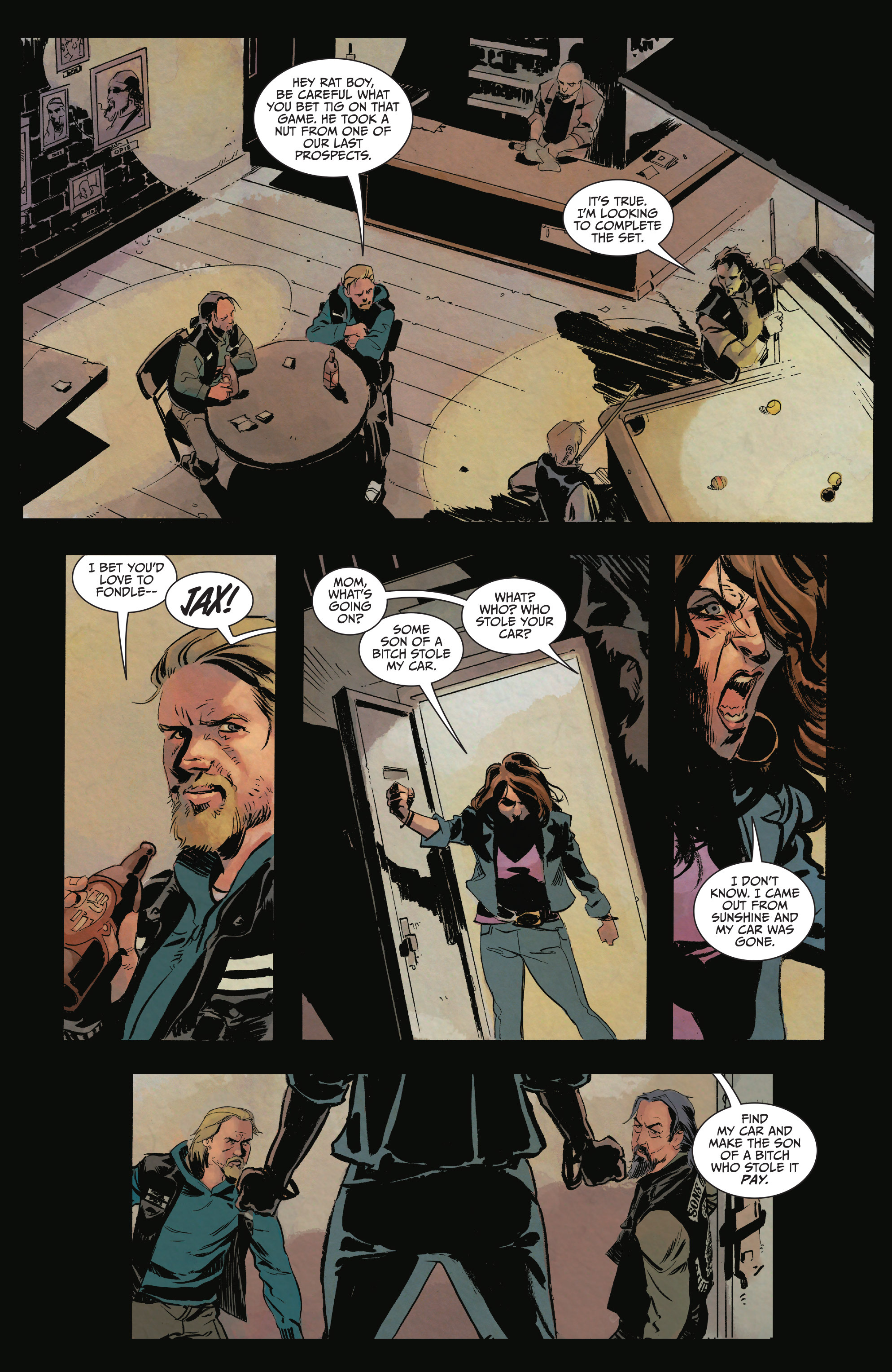 Read online Sons of Anarchy comic -  Issue #15 - 4
