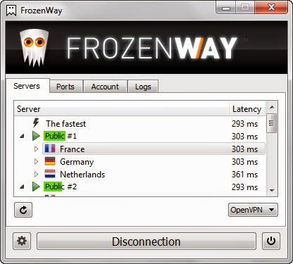 تحميل برنامج FrozenWay