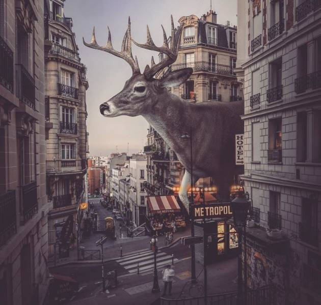 Manipulasi Foto Luar Biasa Dari Zulkarnain Ismail 11 Gambar