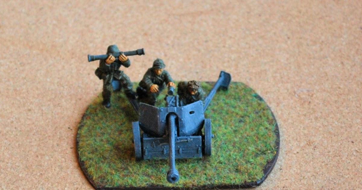 German 50 Mm Anti Tank Gun: John's Toy Soldiers: Pak 40 75mm Anti-Tank Gun