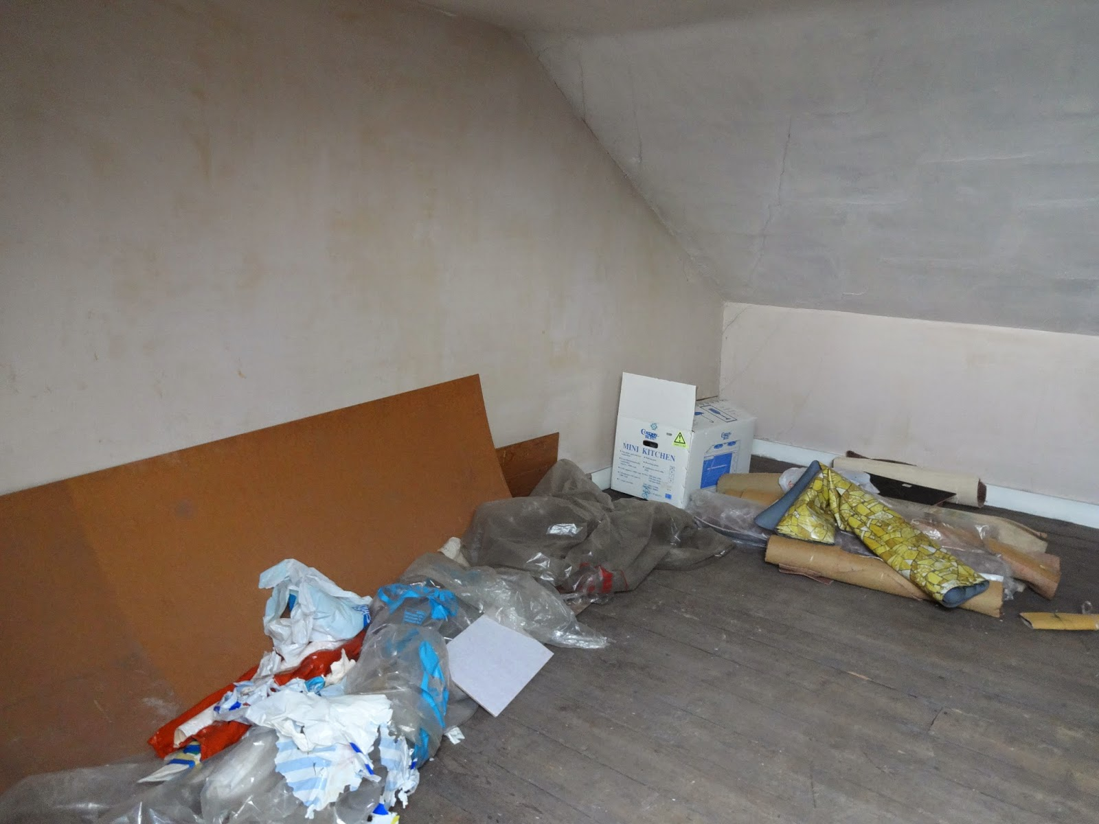 victorian attic space