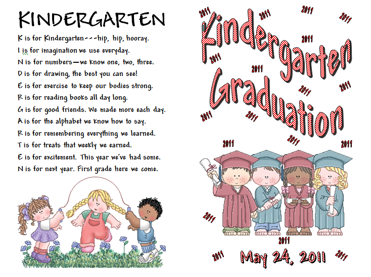 preschool graduation poem keeping focused kindergarten graduation 696