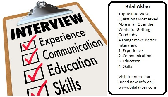 4 Things Make Better Interview.