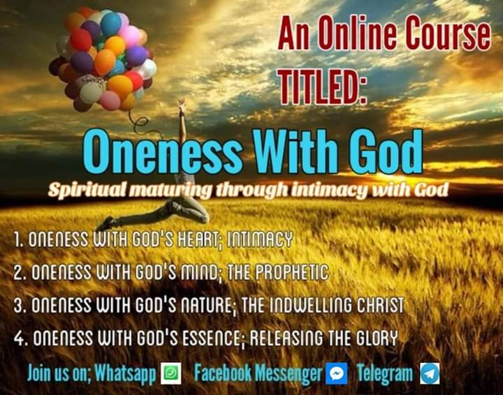 The Course; Oneness With God