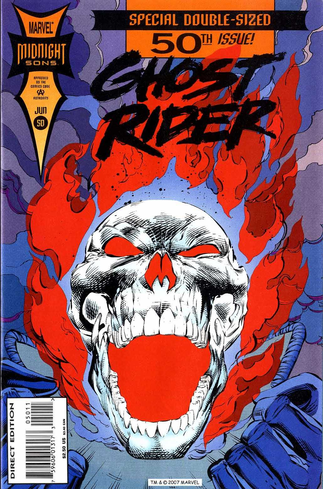 Ghost Rider (1990) 50 Page 1