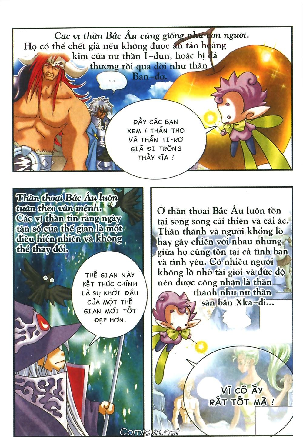Thần thoại Bắc Âu - Chapter 49: Một thế giới mới - Pic 39