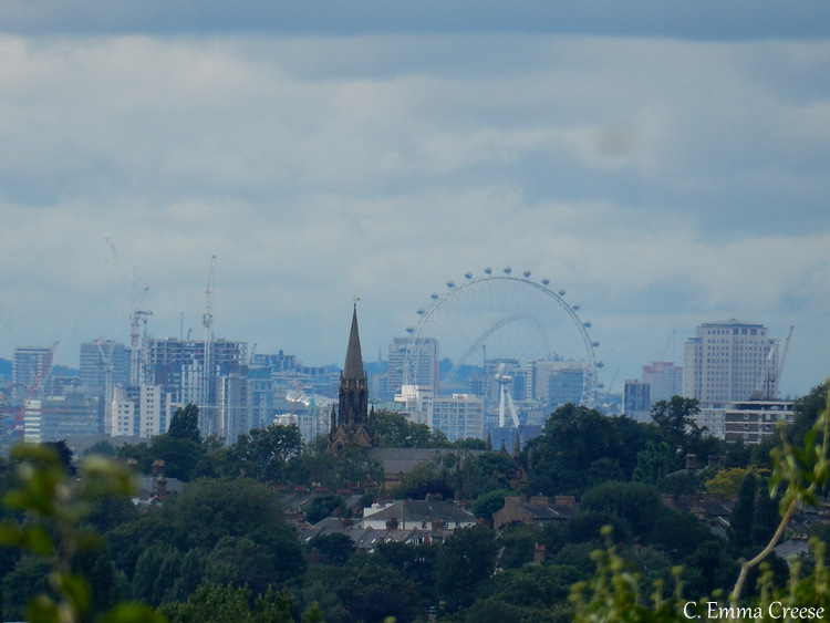 Best views of London skyline from Eltham Palace