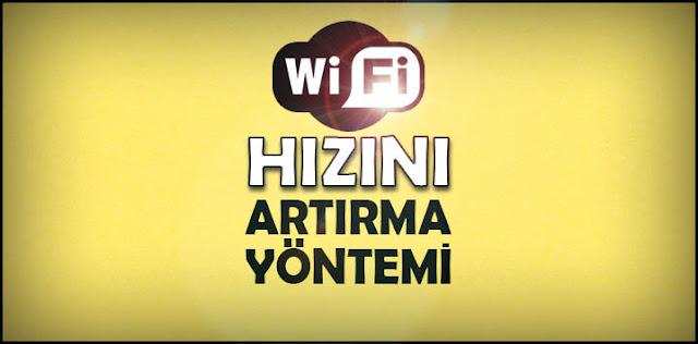Wifi sinyal gücü artırma