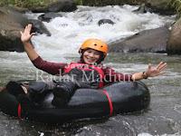 """Seru dan Menantang, Datanglah ke """"Wahana Tubing"""" di Desa Wagir Kidul, Pulung, Ponorog"""