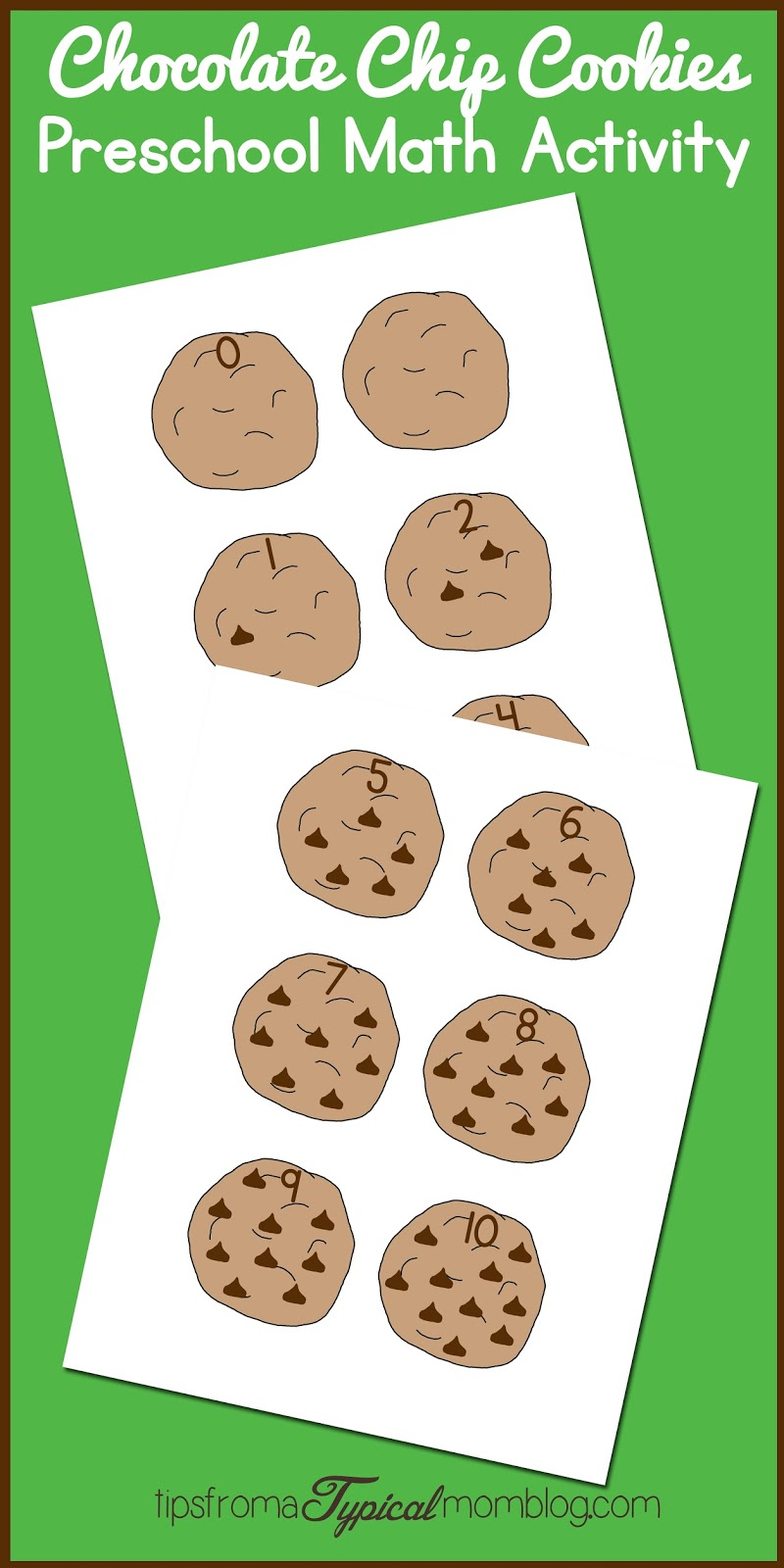 Perfect Chocolate Chip Cookie Recipe Amp Math Activity If