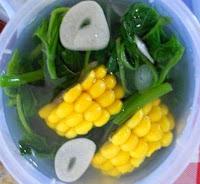 cara membuat Resep sayur bening bayam