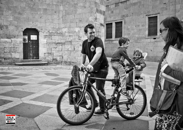 al cole en bicicleta salamanca carril bici en bici al cole