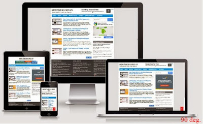 NEW THESIS SEO V3 RESPONSIVE FAST LOADING BLOGGER TEMPLATES