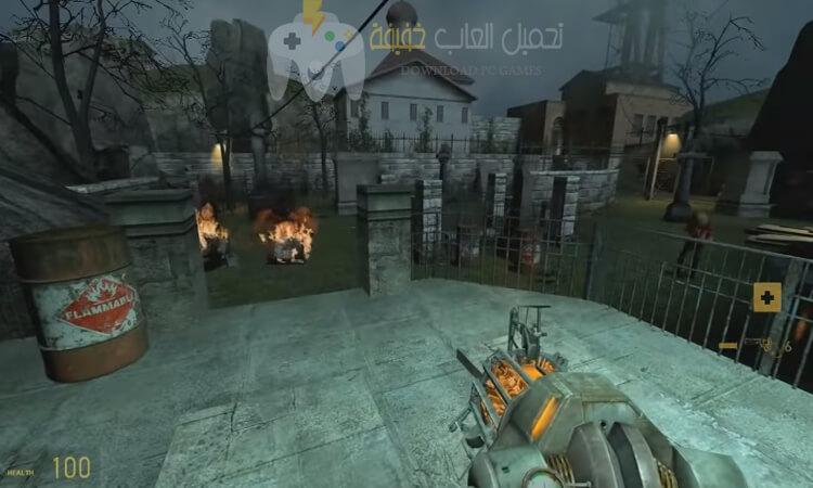 تحميل لعبة هاف لايف Half Life 2 للكمبيوتر مضغوطة