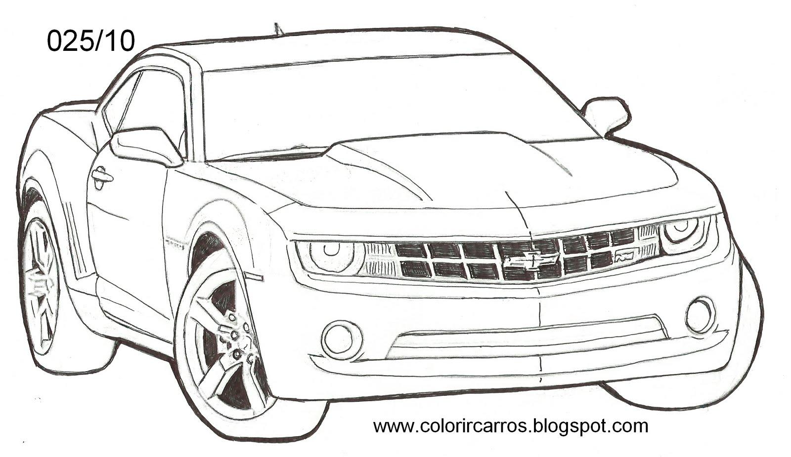 Termos Desenho Do Camaro Para Pintar Pintar Desenho Camaro Desenho