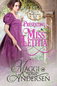 Presenting Miss Letitia by Maggi Andersen