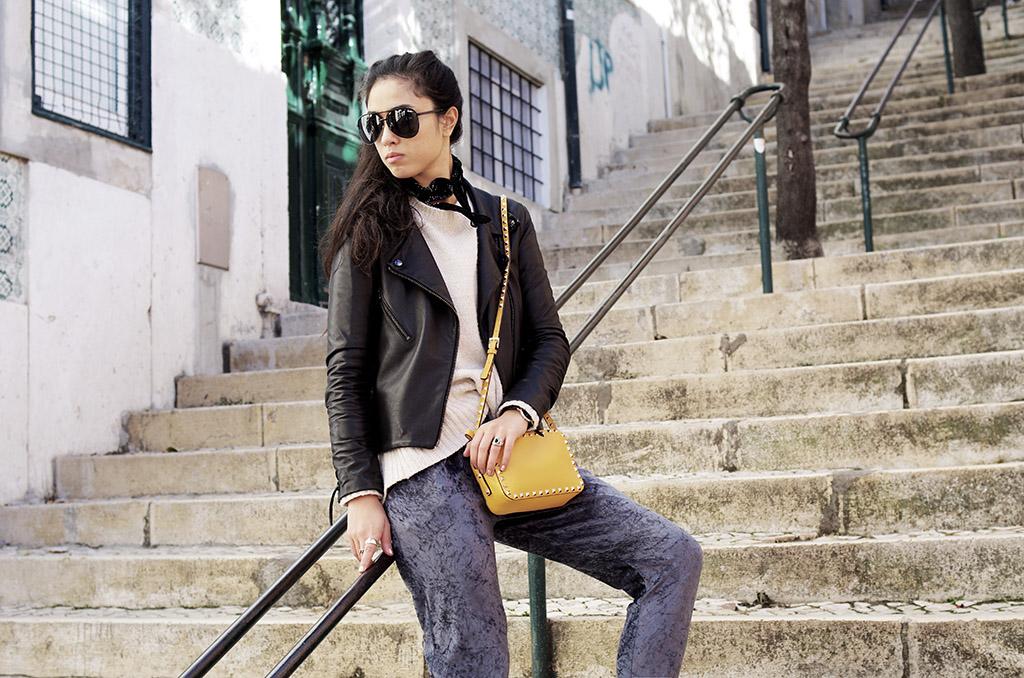 Elizabeth l velvet Missguided jogging pants outfit l trend tendance velours l THEDEETSONE l http://thedeetsone.blogspot.fr