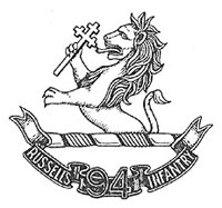 94th Russell's Infantry badge (from British Empire website)